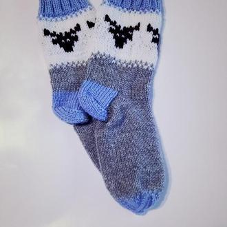 Новогодние носки Олени