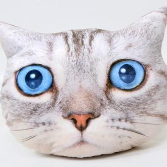 """Подушка фигурная """"Кот с голубыми глазами"""""""