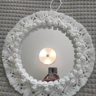 Зеркало макраме