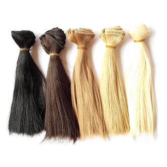 Волосы кукольные на ленте 100х15 см