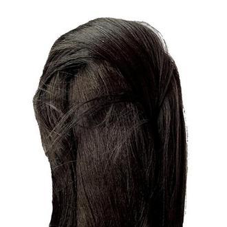 Волосы для куклы (искусственный шелк), черно-коричн. Padico 730035