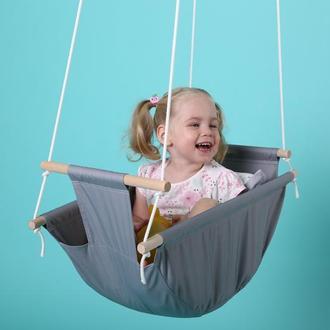 Колиска, колиска, гойдалка, гойдалка-гамак підвісна для дітей від 2-3 міс. до 4-5 років