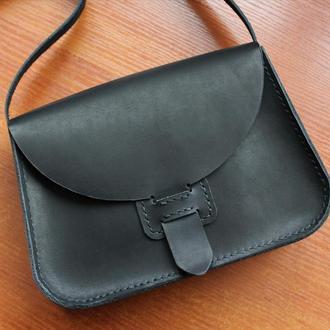 """Женская кожаная сумочка через плечо """"Jane"""""""