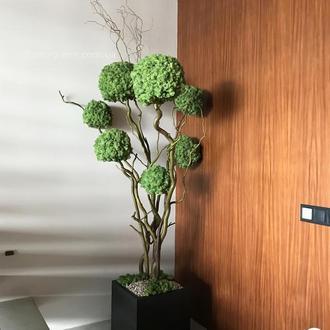 Топиарий, эко-дерево из стабилизированного мха 1.9 м