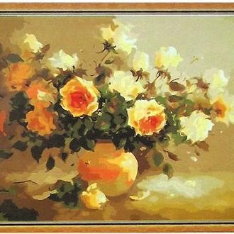 Набор для рисования по номерам Аромат цветов MG 278