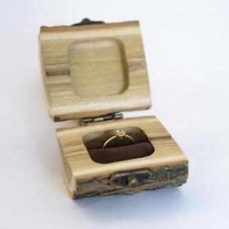 Коробочка для колец. Шкатулка для перстней