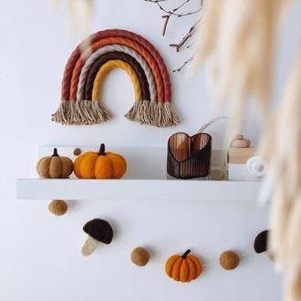 Декоративная радуга-панно
