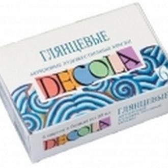 Набор акриловых глянцевых красок Decola, 12 цв.