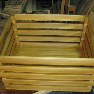 Ящик деревянный под яблоки