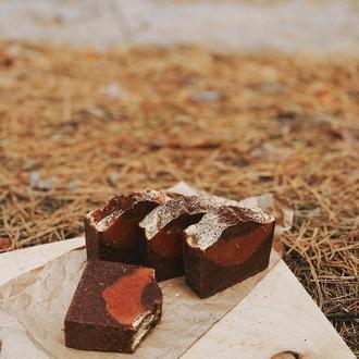 Шоколадное мыло с нуля с паприкой
