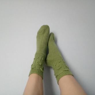 Цветочные носки