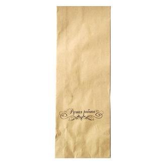 Пакет упаковочный бумажный с надписью Ручная работа