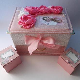 Мамины сокровища для девочки Шкатулка для хранения