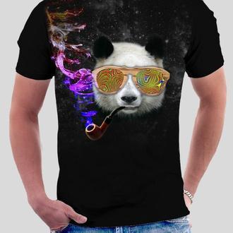 Футболка Панда курит