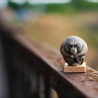 Керамическая статуэтка Бабуин