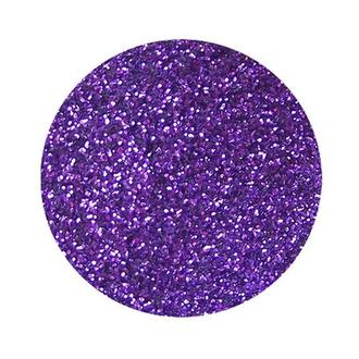 Сухие блестки (глиттер), 12 гр  0,2 мм фиолетовый