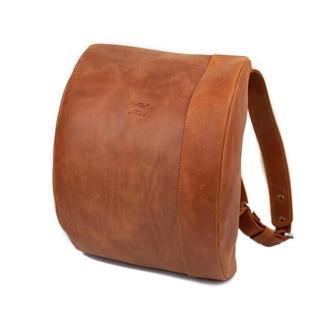 Кожаный рюкзак Cloud S светло-коричневый винтажный