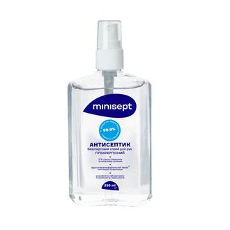 Антисептик гипоаллергенный без спиртовой спрей   250 ml MiniSept