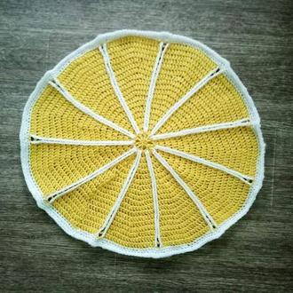 Коврик для дома лимон , цитрус , коврик в ванную