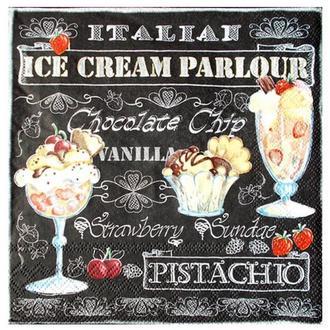 Салфетка Десерты в креманках 2-7075