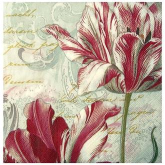 Салфетка Грациозные тюльпаны 2-7009