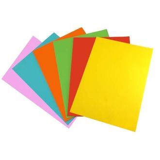 Бумага цветная двусторонняя А4, 160 гр/м2