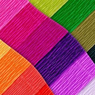 Бумага поделочная крепированная цветная 50х250 см