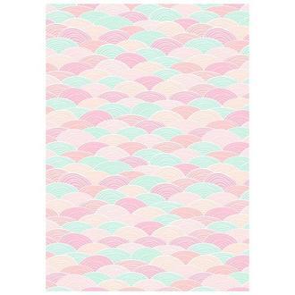 Бумага дизайнерская А4 (250 гр/м) Пастельные волны