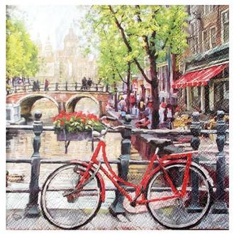 Салфетка Каналы Амстердама 2-7097