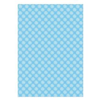 Бумага дизайнерская А4 (200 гр/м) Снежинки на голубом
