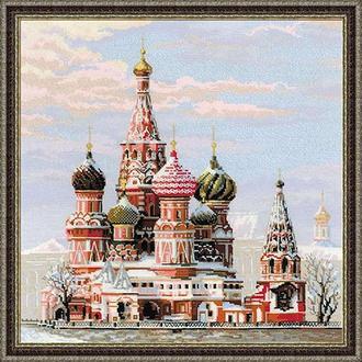 Набор для вышивки Москва. Собор Василия Блаженного