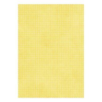 Бумага дизайнерская А4 (200 гр/м) Крестики на желтом