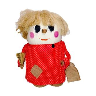 Интерьерная игрушка Домовой Большой 65см (красный)