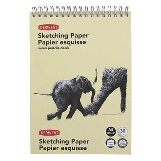 Альбом для набросков Derwent Sketching Paper А5 спираль, 30 л 2300140