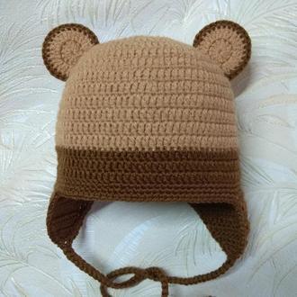 В'язана шапка шапочка