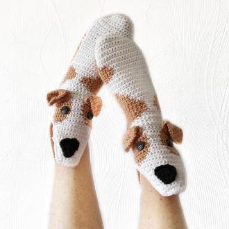 Носки-собаки грейхаунды