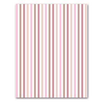 Бумага дизайнерская А4 (200 гр/м) Полоски розово-бежевые