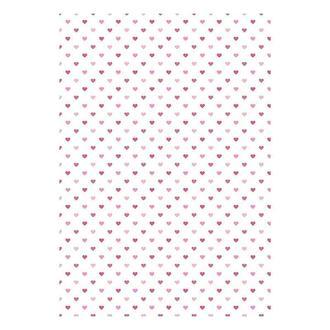 Бумага дизайнерская А4 (200 гр/м) Маленькие сердечки