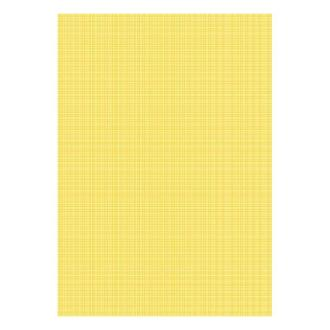 Бумага дизайнерская А4 (200 гр/м) Структура льна на желтом