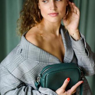 Женская кожаная сумка кросс боди, сумка ручной работы из натуральной кожи