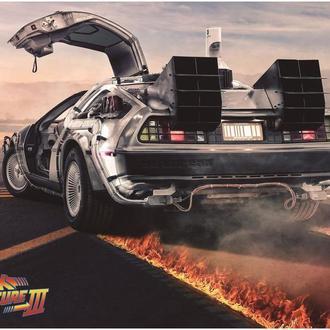 """Постеры """"Назад в будущее"""""""
