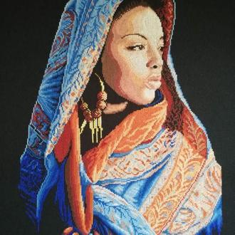 Вишита картина 'Аравійська леді'