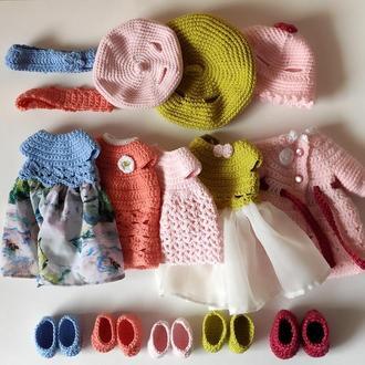 В'язаний одяг для іграшок