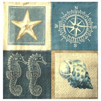 Салфетка Морская жизнь 2-7187
