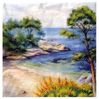 Салфетка Морской пейзаж 2-7133