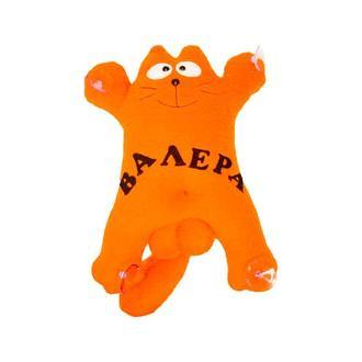 """Авто игрушка кот  Саймон  """"Валера""""(оранжевый) на присосках 27см"""