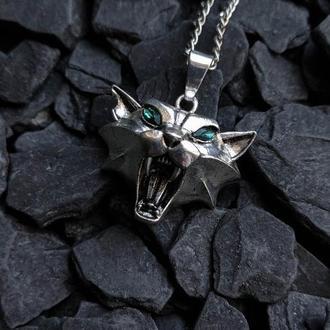 Медальон школы кота из игры Ведьмак (в наличии 1шт.)