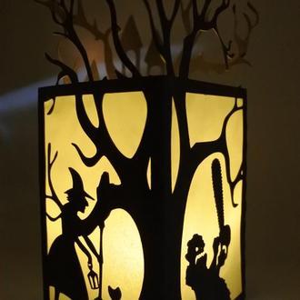 Фонарик на хеллоуин