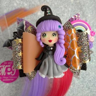 Бант с Ведьмочкой на Хеллоуин