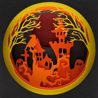 Открытка на Хеллоуин
